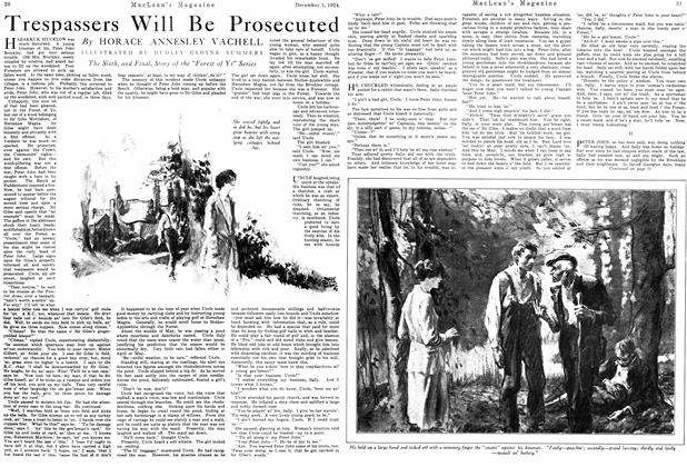 Article Preview: Trespassers Will Be Prosecuted, December 1924 | Maclean's