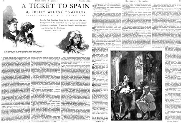 Article Preview: A TICKET TO SPAIN, December 1924 | Maclean's