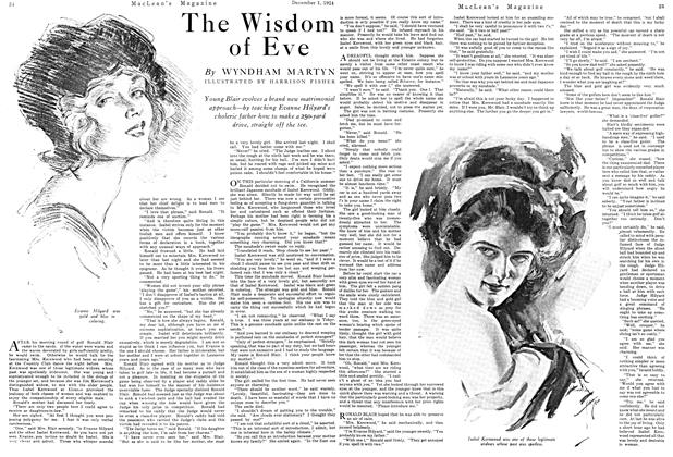 Article Preview: The Wisdom of Eve, December 1924 | Maclean's