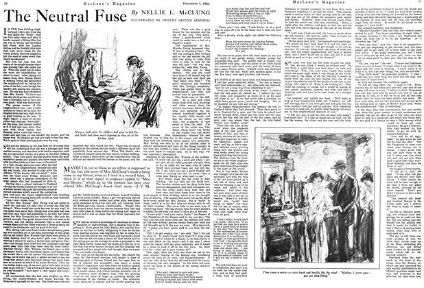Article Preview: The Neutral Fuse, December 1924 | Maclean's