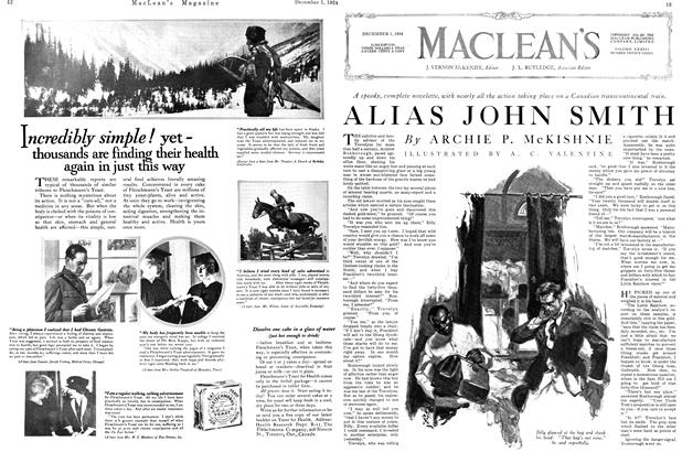 Article Preview: ALIAS JOHN SMITH, December 1924 | Maclean's