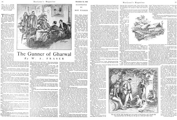 Article Preview: The Gunner of Gharwal, December 1924 | Maclean's