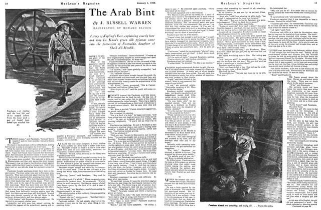 Article Preview: The Arab Bint, January 1925 | Maclean's