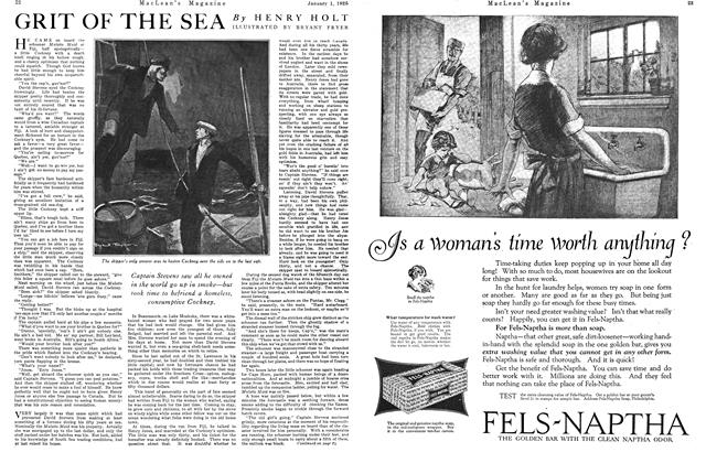 Article Preview: GRIT OF THE SEA, January 1925 | Maclean's