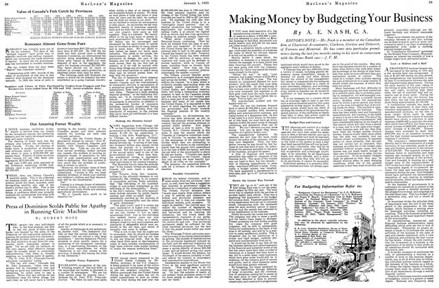 Article Preview: Making Money by Budgeting Your Business, January 1925 | Maclean's