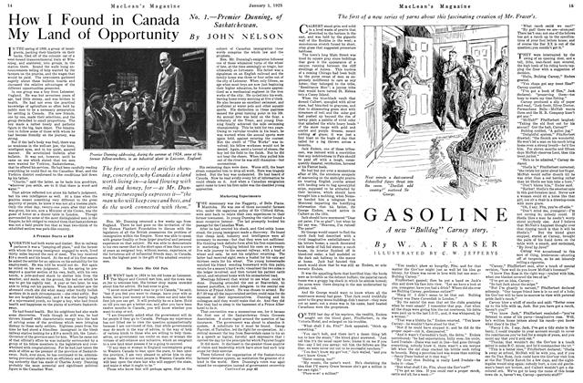 Article Preview: GASOLINE, January 1925 | Maclean's