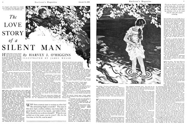 Article Preview: The LOVE STORY of a SILENT MAN, January 1925 | Maclean's