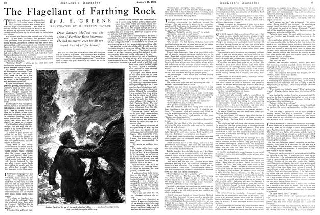 Article Preview: The Flagellant of Farthing Rock, January 1925 | Maclean's