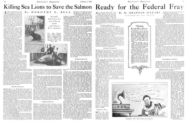 Article Preview: Killing Sea Lions to Save the Salmon, February 1925 | Maclean's