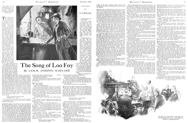 Article Preview: The Song of Loo Foy, February 1925 | Maclean's