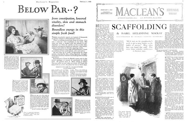 Article Preview: SCAFFOLDING, February 1925 | Maclean's