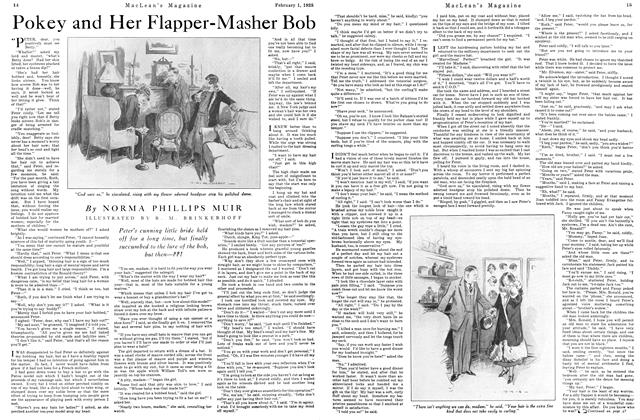 Article Preview: Pokey and Her Flapper-Masher Bob, February 1925 | Maclean's