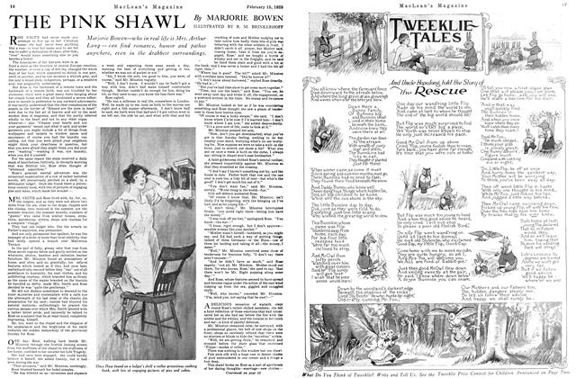 Article Preview: THE PINK SHAWL, February 1925 | Maclean's