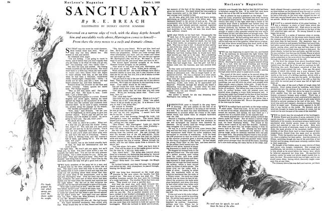 Article Preview: SANCTUARY, March 1925 | Maclean's