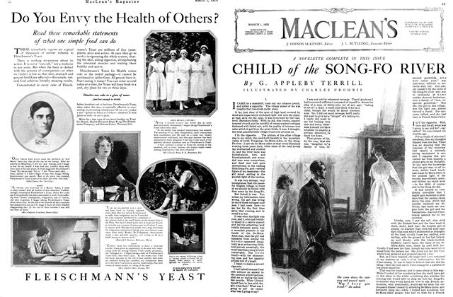 Article Preview: CHILD of the SONG-FO RIVER, March 1925 | Maclean's
