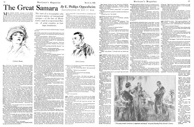 Article Preview: The Great Samara, March 1925 | Maclean's