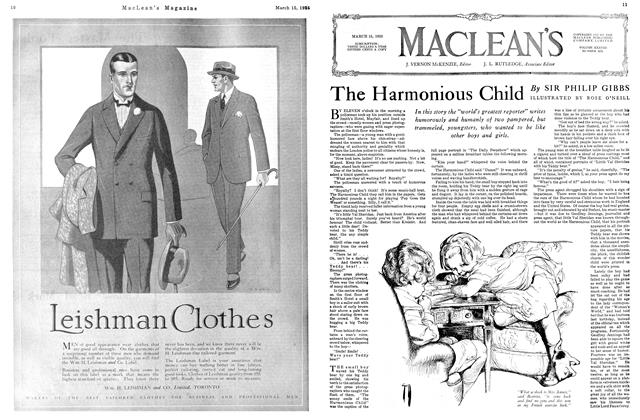 Article Preview: The Harmonious Child, March 1925 | Maclean's