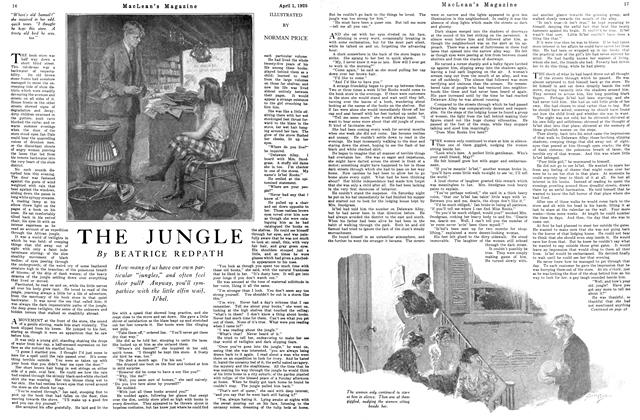 Article Preview: THE JUNGLE, April 1925 | Maclean's