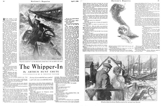 Article Preview: The Whipper-In, April 1925 | Maclean's