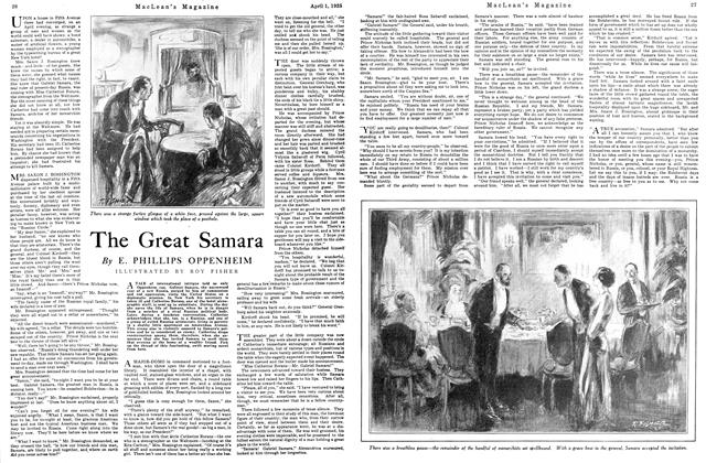 Article Preview: The Great Samara, April 1925 | Maclean's