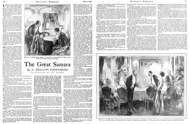 Article Preview: The Great Samara, April 1925 | Maclean's