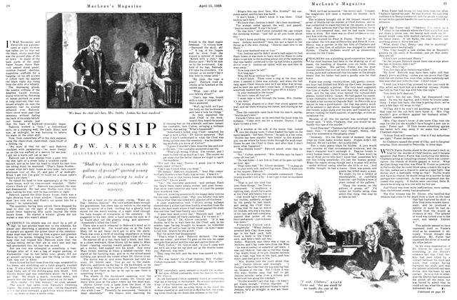 Article Preview: GOSSIP, April 1925 | Maclean's