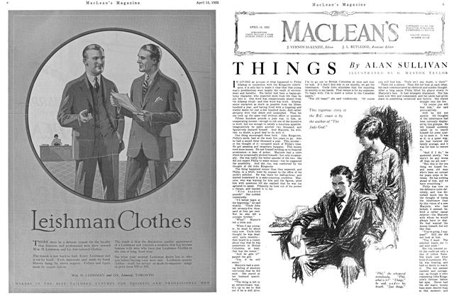Article Preview: THINGS, April 1925 | Maclean's
