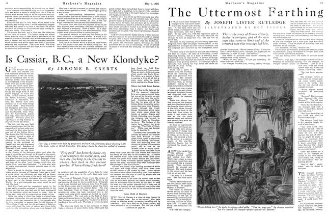 Article Preview: The Uttermost Farthing, May 1925 | Maclean's