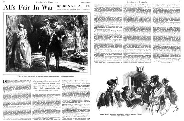 Article Preview: All's Fair In War, June 1925 | Maclean's