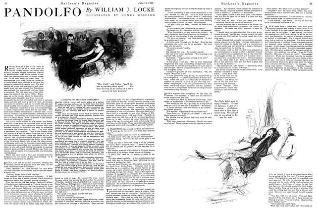Article Preview: PANDOLFO, June 1925   Maclean's