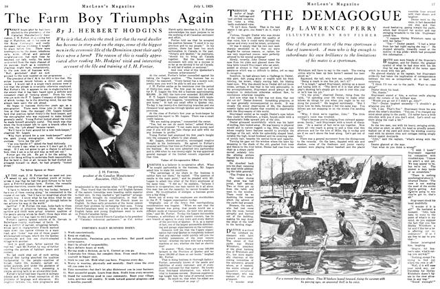Article Preview: THE DEMAGOGUE, July 1925 | Maclean's