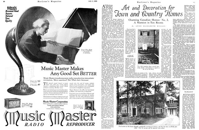 Article Preview: Art and Decoration for Town and Country Homes, July 1925 | Maclean's