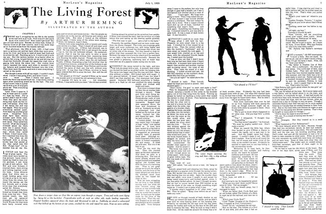 Article Preview: The Living Forest, July 1925 | Maclean's