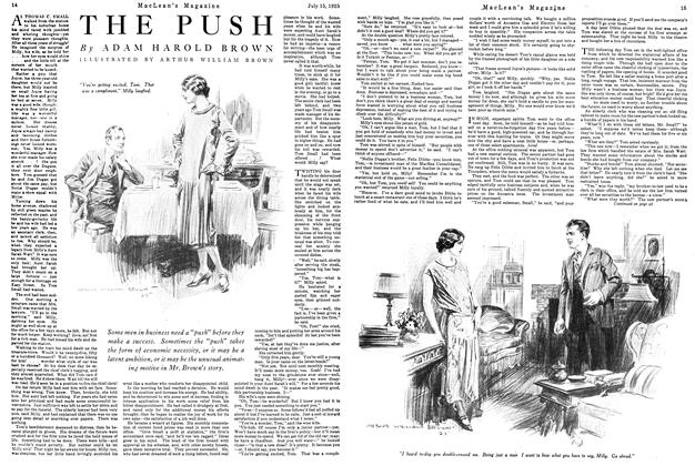 Article Preview: THE PUSH, July 1925 | Maclean's