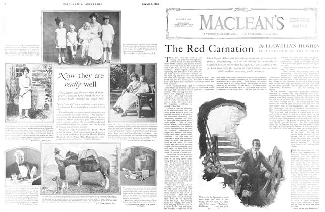 Article Preview: The Red Carnation, August 1925 | Maclean's