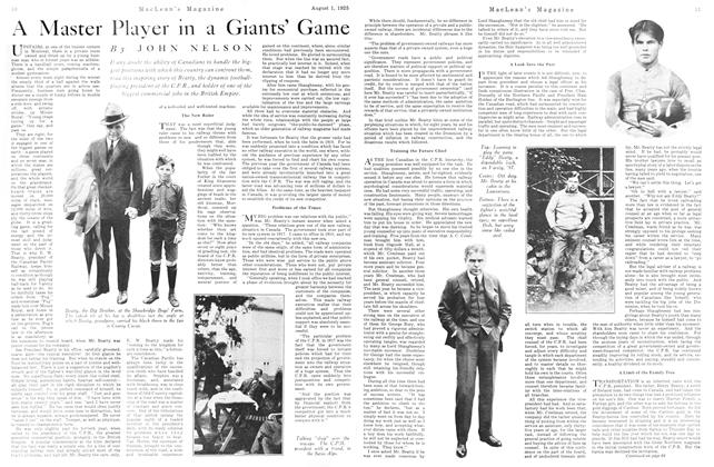 Article Preview: A Master Player in a Giants' Game, August 1925   Maclean's