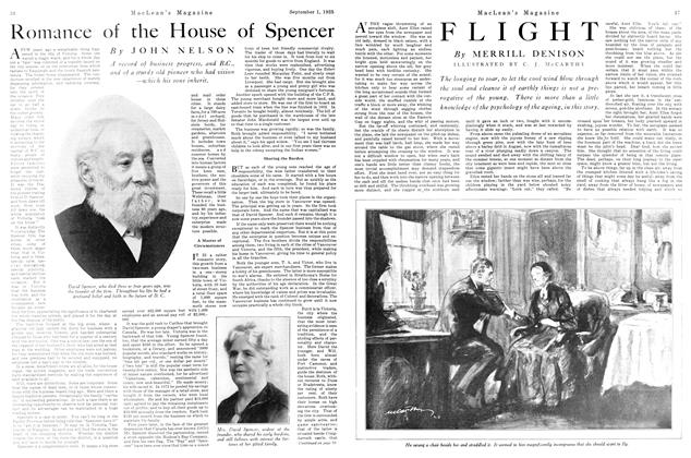 Article Preview: Romance of the House of Spencer, September 1925 | Maclean's