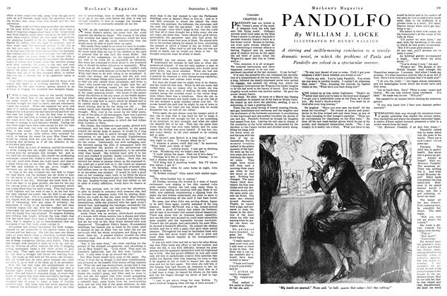 Article Preview: PANDOLFO, September 1925 | Maclean's