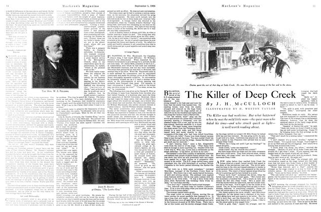 Article Preview: The Killer of Deep Creek, September 1925 | Maclean's