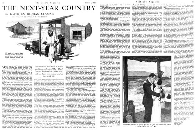 Article Preview: THE NEXT-YEAR COUNTRY, October 1925 | Maclean's