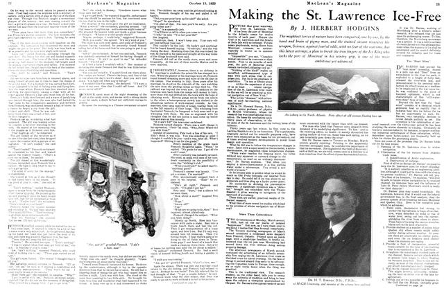 Article Preview: Making the St. Lawrence Ice-Free, October 15th 1925 1925 | Maclean's