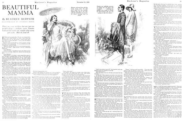 Article Preview: BEAUTIFUL MAMMA, November 15TH 1925 1925 | Maclean's