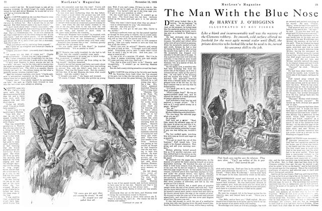 Article Preview: The Man With the Blue Nose, November 15TH 1925 1925 | Maclean's
