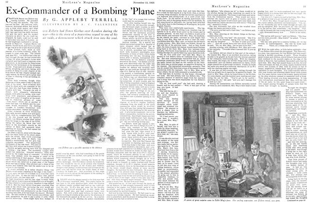 Article Preview: Ex-Commander of a Bombing 'Plane, November 15TH 1925 1925 | Maclean's