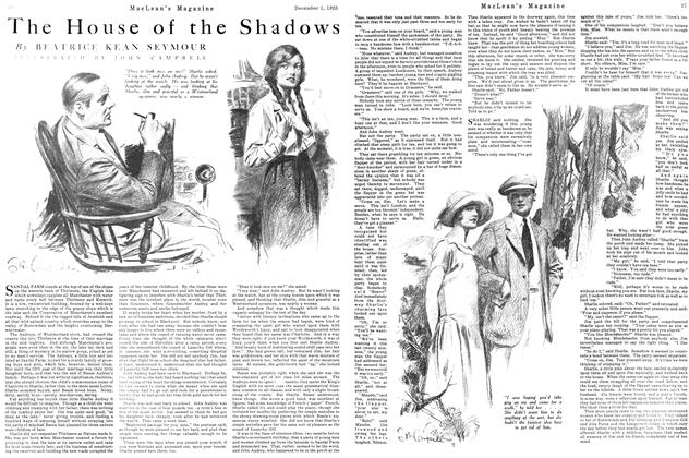 Article Preview: The House of the Shadows, December 1925 | Maclean's