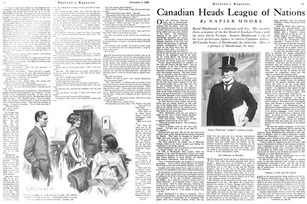 Article Preview: Canadian Heads League of Nations, December 1925   Maclean's