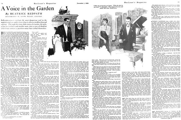 Article Preview: A Voice in the Garden, December 1925 | Maclean's
