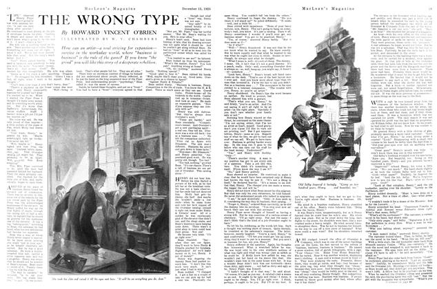 Article Preview: THE WRONG TYPE, December 1925 | Maclean's