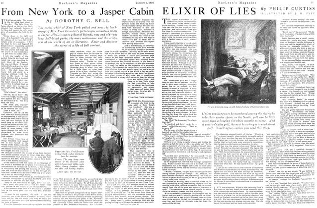 Article Preview: From New York to a Jasper Cabin, January 1926 | Maclean's