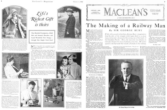 Article Preview: The Making of a Railway Man, January 1926 | Maclean's